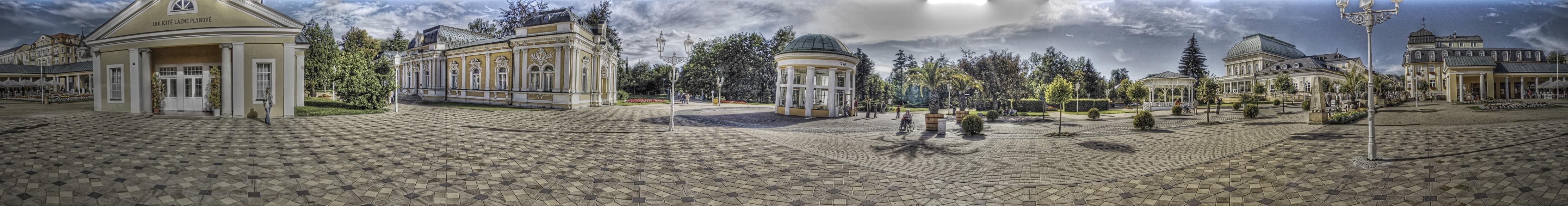 Franzensbad | 360° HDR Panorama