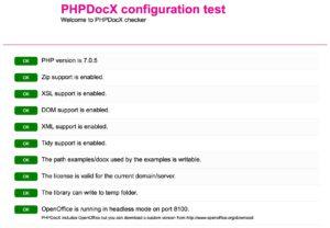PHPDOCX und LibreOffice headless auf Centos 7