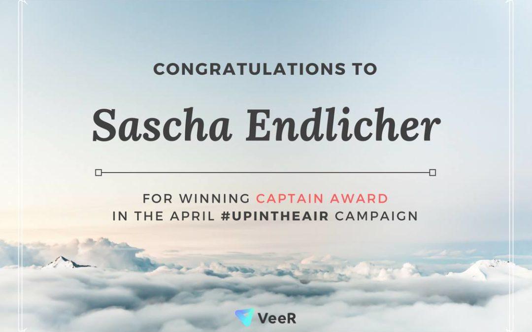 Sieg beim #UpInTheAir VeeR-Wettbewerb